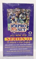 1991 Pro Set series 2 Football card box Factory Sealed contains 36pks
