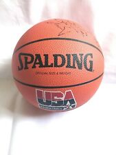 Spalding USA Basketball Signed By Crystal Palace Basketball Team New
