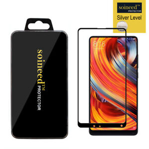 SOINEED FULL COVER Tempered Glass Screen Protector For Xiaomi Mi Mix 2/ Mix 2S