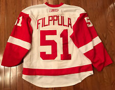 Detroit Red Wings Game Worn Jersey 2009-10, Filppula
