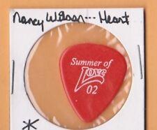 NANCY WILSON HEART red Guitar Pick