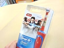 ORAL-B STAGES POWER CLEAN ELECTRIC RECHARGEABLE TOOTHBRUSH 5+ YEARS STAR WARS