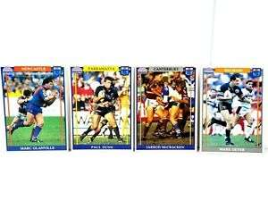 REGINA NRL NSW RL 1993 Official Series 4 of 174 Vintage Collectable Trading Card