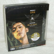 Kim Hyun Joong Vol.1 Break Down Taiwan Ltd CD+Card+Poster (SS501)