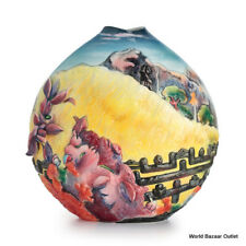 FZ02535 Franz Porcelain Sacred Mountain by Paul Gauguin