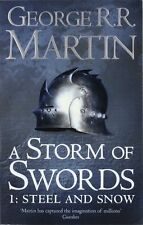 A Song of Ice and Fire (3) - A Storm of Swords: Part 1 Steel and Snow (Reissue),