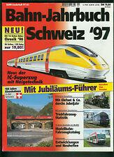 Bahn-Jahrbuch Schweiz '97 Eisenbahn Zug Bahn Lokomotive SBB