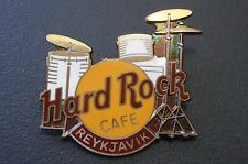 HRC hard rock cafe Reikiavik drum set Old Style Brown nombre FC Parry XL fotos