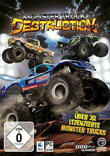 Pc cd rom mac ordinateurs de jeu jeu Monster truck calibre Game allemand nouveau OVP