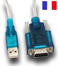 Câble Adaptateur Convertisseur USB Vers DB9 RS232