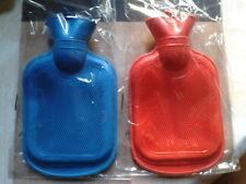 Mini Bouillotte De Poche Bleu Ou Rouge 14cmX11cm NEUVE