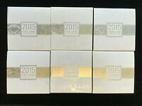 2015 $2 $1,50 20,10,5  RAM Kangaroos Mob Of Roos Silver Proof Coin SET Numbered