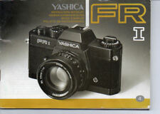 Yashica FR I Instruction Manual