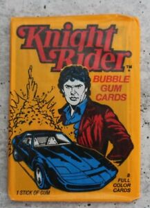 Knight Rider Trading Cards (Donruss) Opened Wax Pack