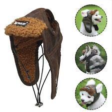 Dog Puppy Windproof Aviator Hat Pet Costume Cosplay Pilot Helmet Winter Warm Hat