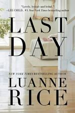 Last Day by Luanne Rice (2020, Hardcover)