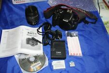 Canon EOS 600D 18.0MP Digital SLR Camera - Black (Kit with EF-S 18-55mm IS II...