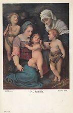 "Artistes carte postale-del sarto ""HL. famille"""