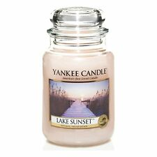 Yankee Candle - LAKE SUNSET - 22 oz - Great Fresh Scent!! - HARD TO FIND!!