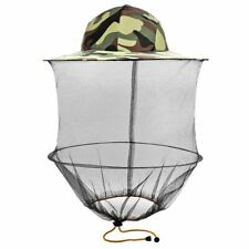 Head Face Protector Mesh Hat Mosquito Bee Insect Camouflage Net Resistance Cap