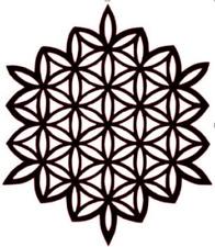 Reusable stencil wall art decor decal sacred geometry flower of Life scrap book