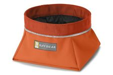 Ruffwear Quencher Dog Water Bowl 20502/855 Pumpkin Orange size medium NEW