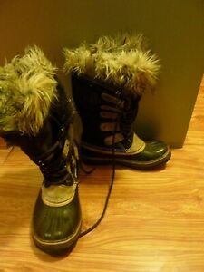 FREE shipping SOREL winter waterproof boots natural rubber handmade,EU 38,US 7.5