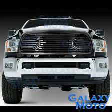 10-18 Dodge RAM 2500+3500+HD Front Hood Big Horn Black Replacement Grille+Shell