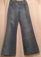 POLO Ralph Lauren~Flare Leg Boot Cut Jeans~Womens Sz 4~W28 L31~Light Blue Denim