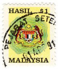 (I.B) Malaysia Revenue : Duty Stamp $1 (small format)