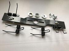 Umbaukit Rasenmähermesser Vertikutiermesser Kraftharke mit 4 Doppelfedern