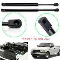 For Ford F-150 1995-2003 Vehicle Front Bonnet Hood Gas Lift Supports Struts 2PCS