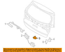 KIA OEM 08-10 Rondo Liftgate Tail Tailgate Trunk-Lock Striker 812102B000