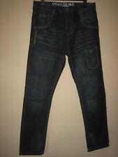 LB2) Para Hombre Officers Club Cargo Estilo Blue Jeans Cintura 34R pierna 30 in (approx. 76.20 cm)