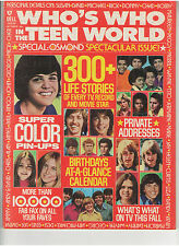 WHO'S WHO IN THE TEEN WORLD OSMOND DAVID CASSIDY SUSAN DEY ELVIS PRESLEY 1973