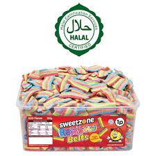 Sweetzone ARCOBALENO cinture VASCA CARAMELLE CANDY Kids partito è favorevole al 100% halal HMC