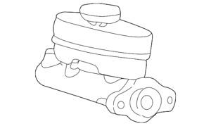 Genuine Ford Master Cylinder 3C2Z-2140-DA