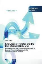Trasferimento di conoscenze e l'uso di reti sociali da Chris jeffs (libro in brossura/.