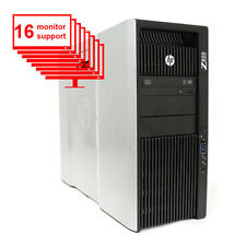 HP Z820 16-Monitor Computer/Desktop E5-2640 12-Core/12GB /1TB HDD/NVS 420/Win10