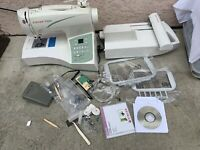 Singer Futura CE-250 Sewing & Embroidery Machine  Needs service.