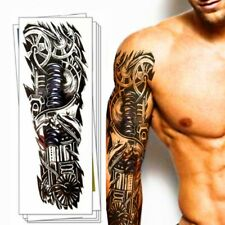 Temporäres Tattoo mechanischer Arm Tätowierung Design Körperkunst Klebetattoo