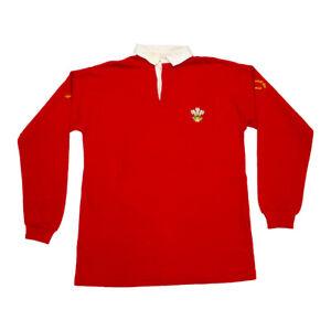 Umbro Wales Rugby Replica Shirt | Vintage 80s Welsh Jersey Sportswear