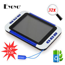 """Portable 3.5"""" Color LCD Pocket Electronic Video Magnifier 4 Low Vision Read Aid"""