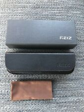 Reiz Eyeglasses Case - stitched leather with microfiber cloth