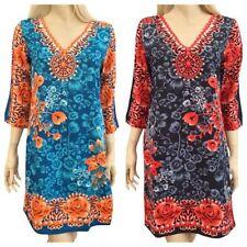 3/4 Sleeve Mini Summer Dresses for Women