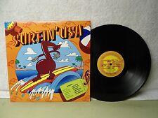 Surfin USA LP Clean 60's 1982 ERA Surf Comp Orig! Trashmen Jan & Dean Beach Boys