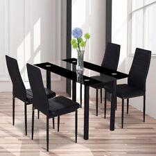 glass rectangular dining tables sets for sale ebay rh ebay co uk
