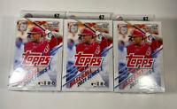 {Lot of 3}2021 Topps Baseball Series 1 Hanger Boxes - Brand New / Factory Sealed
