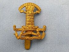 The Leicestershire Yeomanry cap badge.