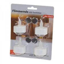 Teelichter LED 12er Set LED Teelicht mit Batterie Sonderangebot